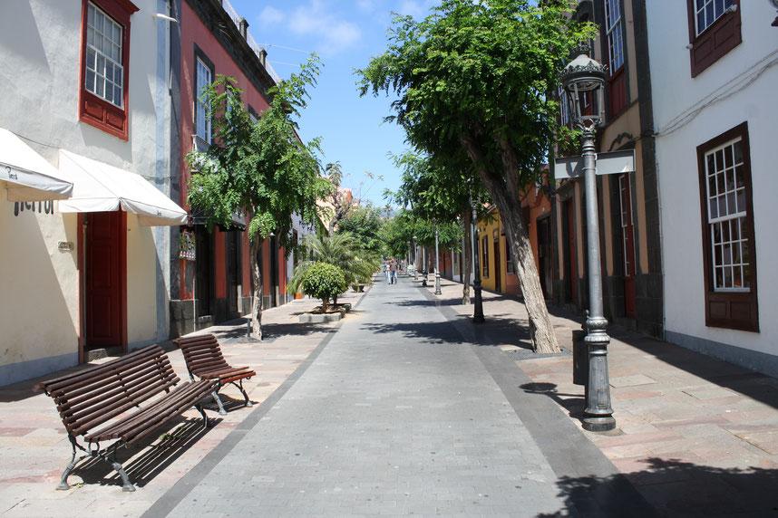 Fußgängerzone von Los Llanos