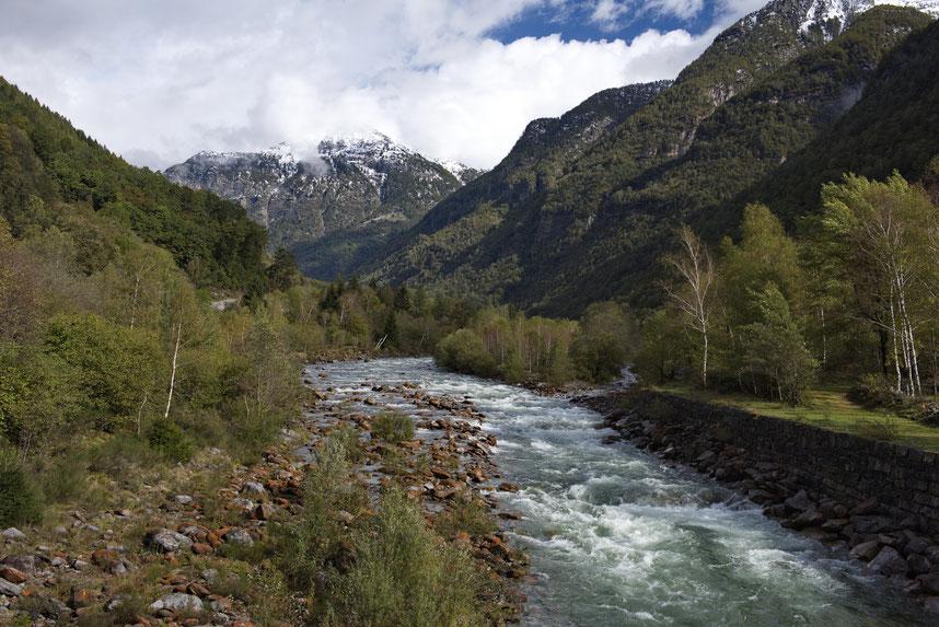 Anfang Oktober im Valle Verzasca