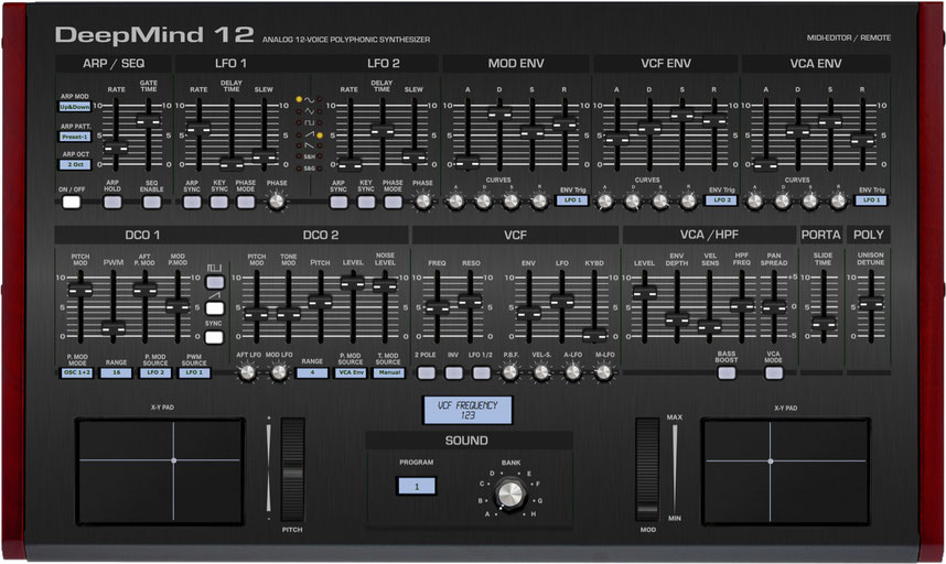 Behringer DeepMind 12 Editor and Controller, VST and Standalone