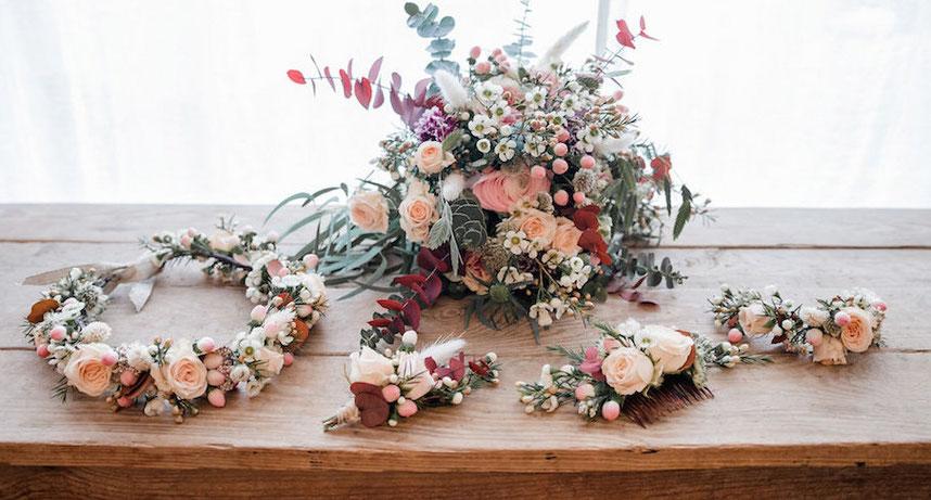 Créations florales - évènementiel - Mariage -