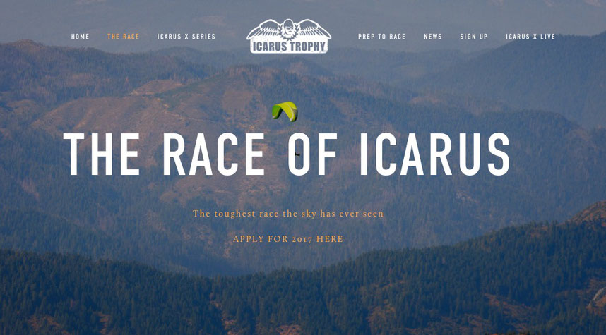 The Icarus Trophy 2017 Website