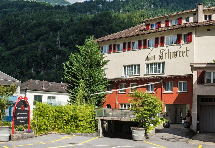 Hotel Schwert, Molliserstrasse 7, Koord. 722861 213816