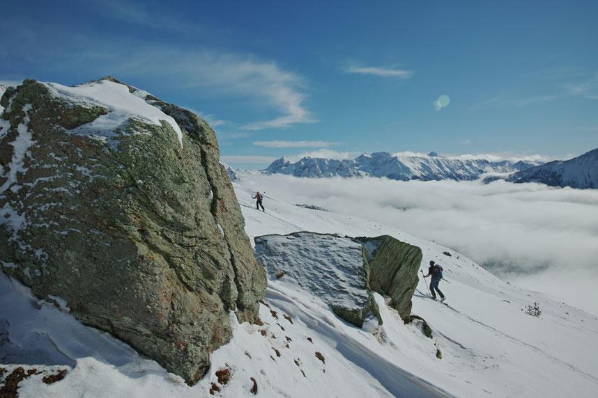 Le ski de randonnée dans la vallée de la Clarée !