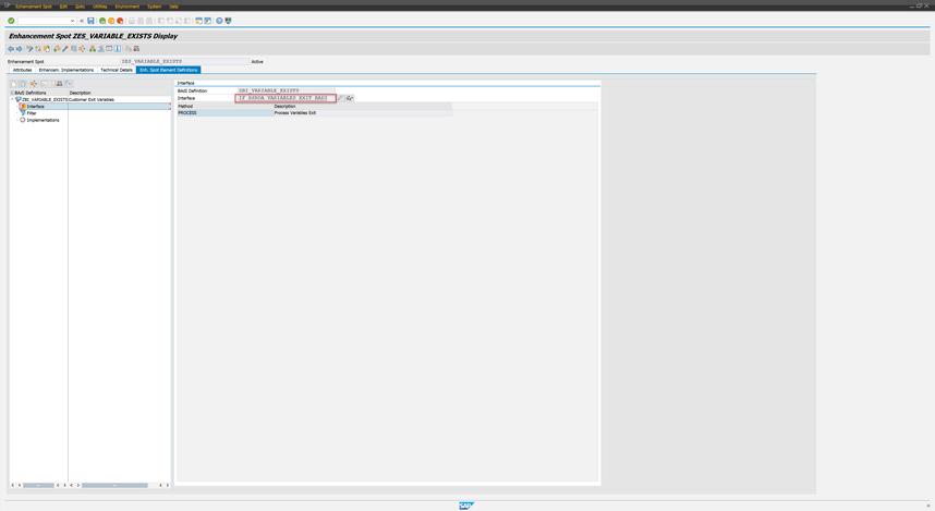 Add Interface to BAdI