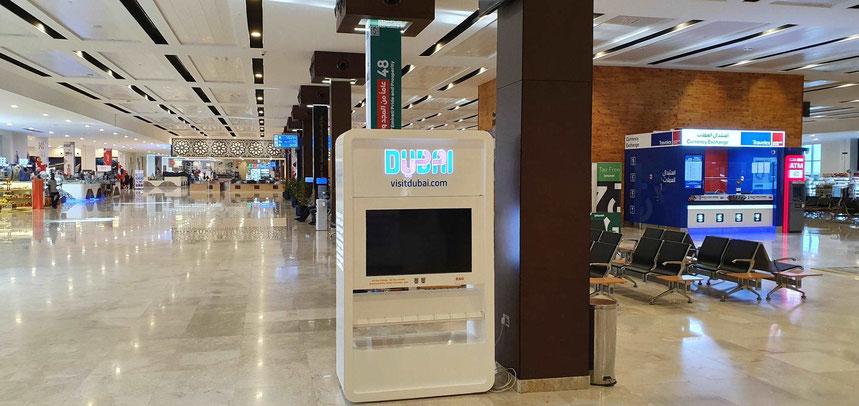 Terminalgebäude in Dubai