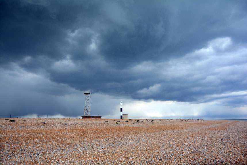 Storm clouds over Dungeness: the referendum has released horrible and dark sentiments.