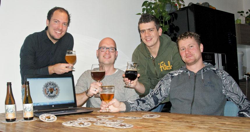 Streekbier proeven, brouwerij Het Platte Harnas uit Barneveld
