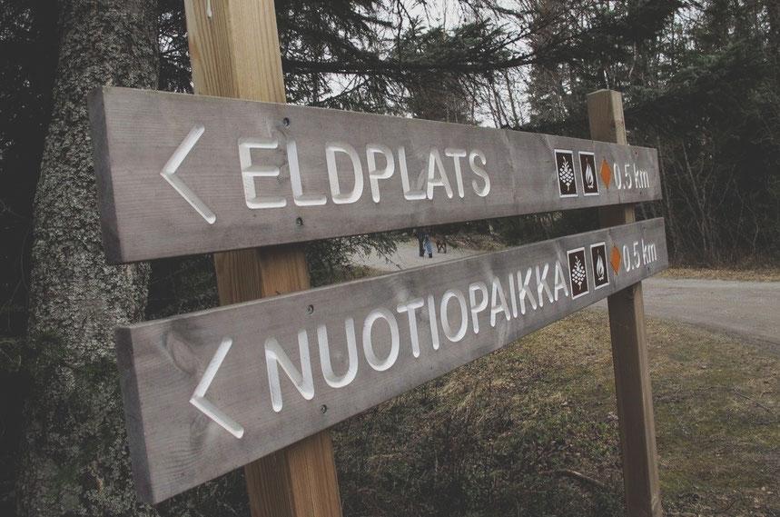 bigousteppes finlande rando panneaux
