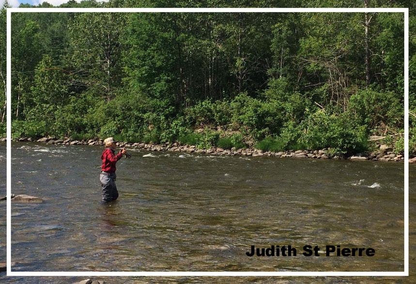 Merci a Judith St Pierre pour cette photo, riviere Mitis en Gaspesie ( Québec )
