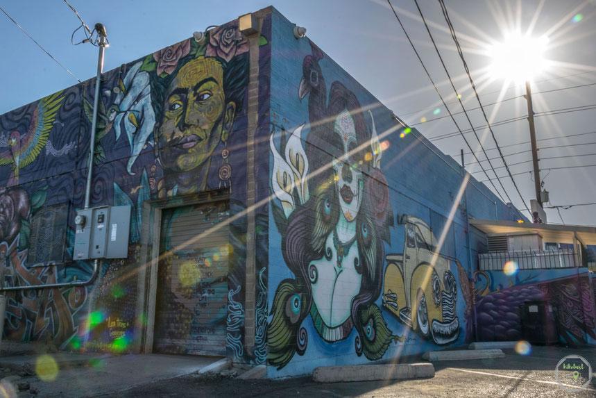 Streetart new Mexico gallup Murals graffiti sommer USA roadtrip