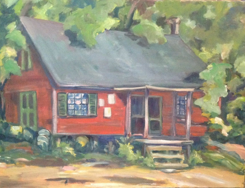 Rosaly's Shed   18 x 24  $500