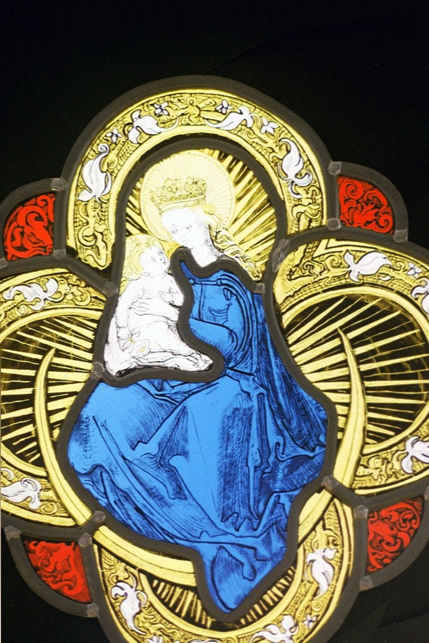 Vierge a l'entfant