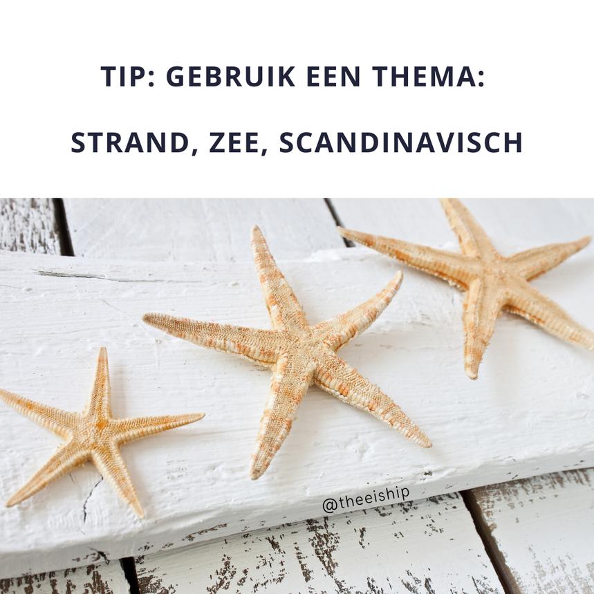 Tips voor het dekken van een minimalistische feesttafel by Thee is Hip!
