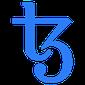 Hier ist das Logo der Marke Tezos.