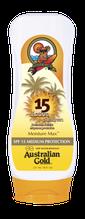 Lotion zonder bronzer SPF Outdoor Australian Gold Zonnebank creme bronzer zoncosmetica DHA cosmetisch natuurlijk