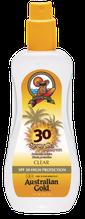 Spraygel zonder bronzer SPF Outdoor Australian Gold Zonnebank creme bronzer zoncosmetica DHA cosmetisch natuurlijk