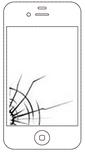 iphoneパネル割れ,フロントパネル割れ,iphoneバッテリー交換,でんち交換,アップルループ,