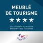 logo Classement préfectoral des Meublés de Tourisme 4 étoiles 2017