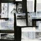 Monika Humm Mischtechnik auf Papier aus der Global Serie