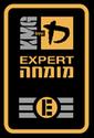 Expert 3 Patch von KRAV MAGA Global als Nachweis der höchsten Auszeichnung in KRAV MAGA in Berlin und Umgebung