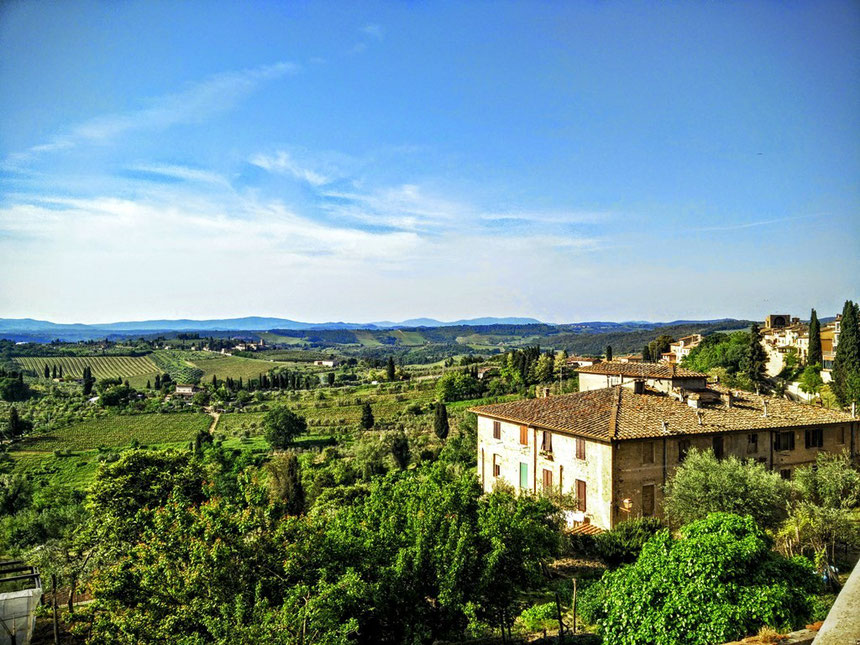 San Gimignano in Italien