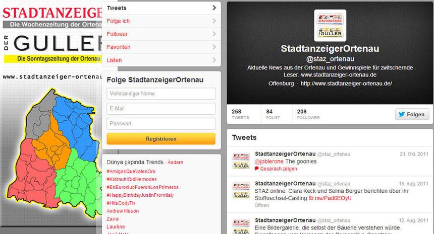 Social Media Staz Twitter