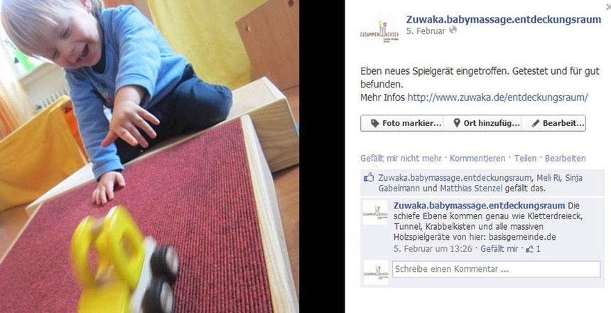 Social Media Zuwaka Spielgeraet