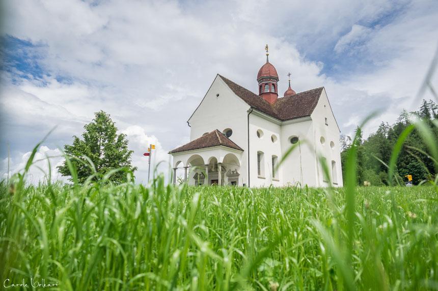 St. Verena Kapelle in Zug, Hochzeitsfotografie
