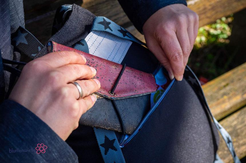 Crossbag2 mit Reißverschlussfach