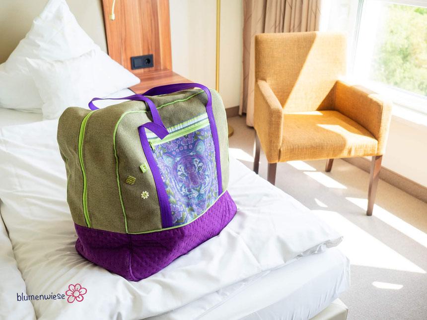 XXL Reisetasche als Saunatasche