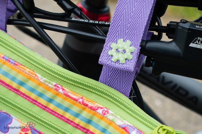 Lenkertasche Farbenmix Taschenspieler