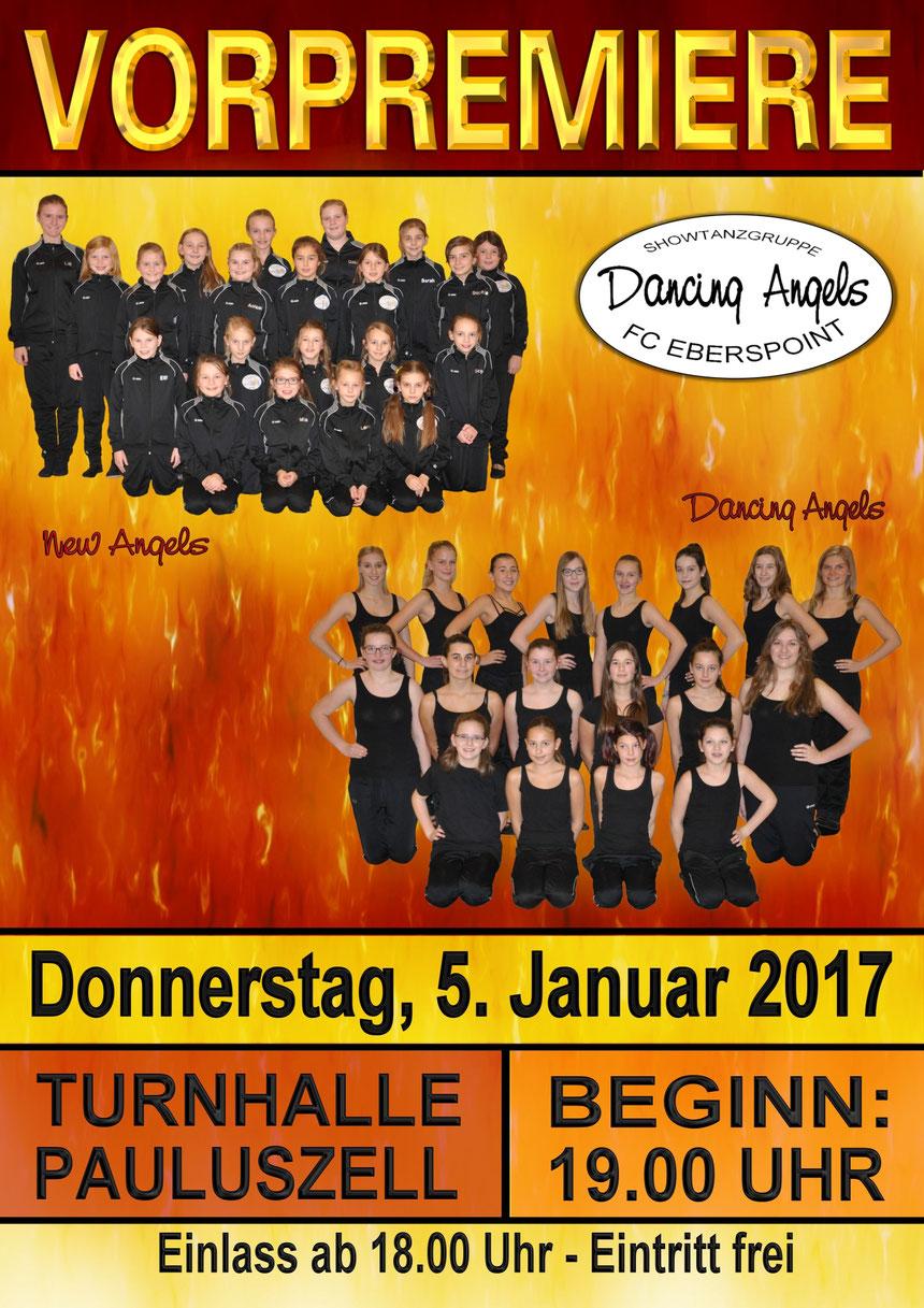 Die Tänzerinnen der Dancing Angels können es kaum erwarten ihr diesjähriges Programm endlich präsentieren zu dürfen!