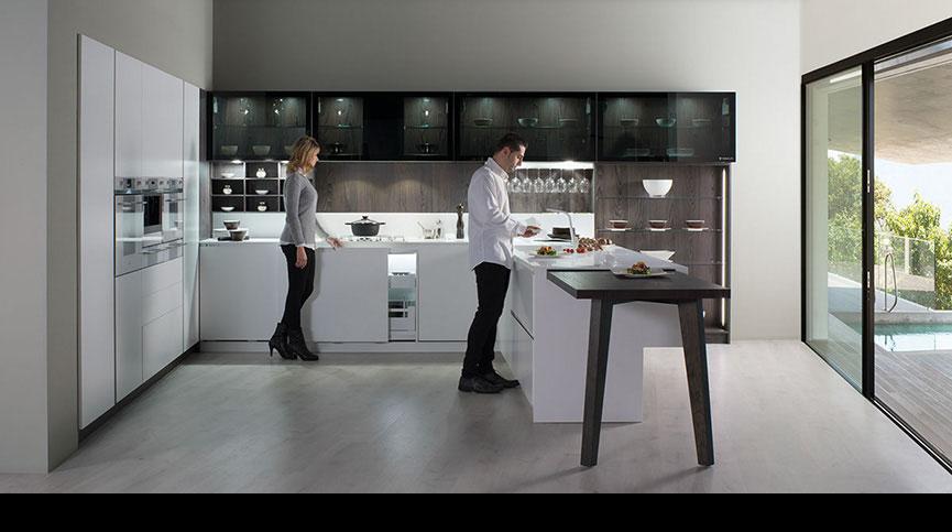 Cuisines CD DAUZET - Andorra 45° Aluminium