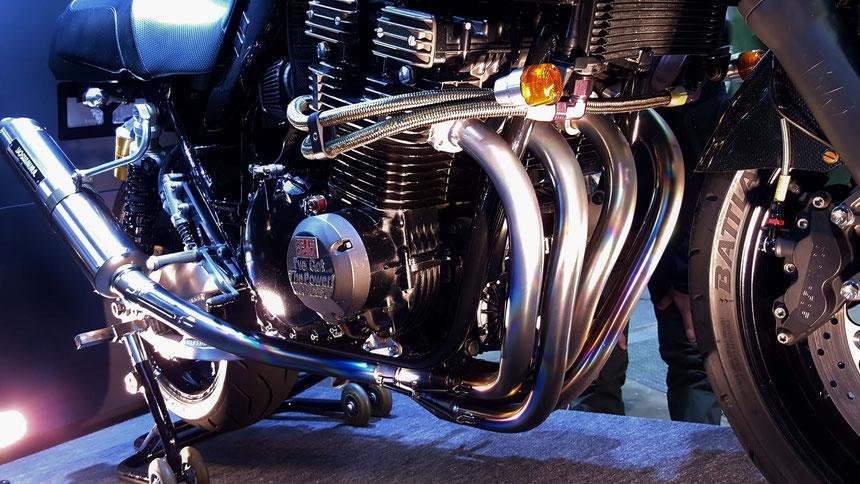 ヨシムラ1135Rのエンジン モーターサイクルショー2019