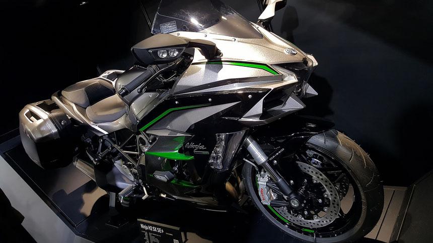 ニンジャH2SX モーターサイクルショー2019