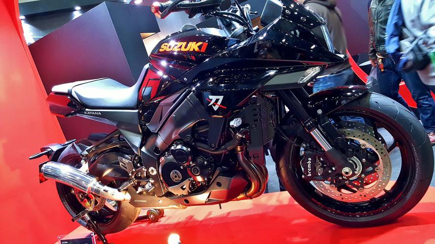 ヨシムラの新型刀 モーターサイクルショー2019