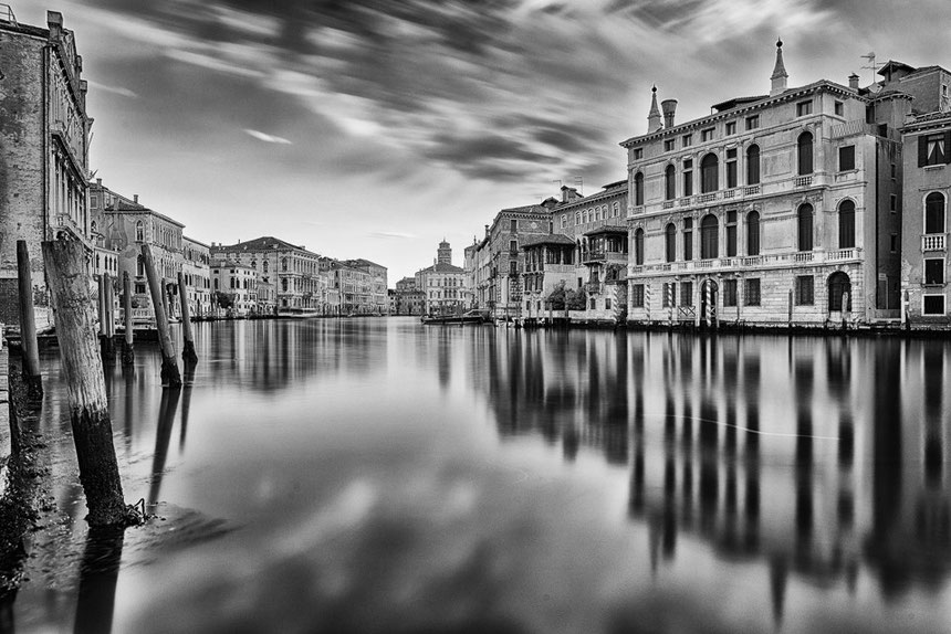Accademia Brücke, Canal Grande (ISO 100/24mm/f8/109 Sek., Graufilter 10 stop)