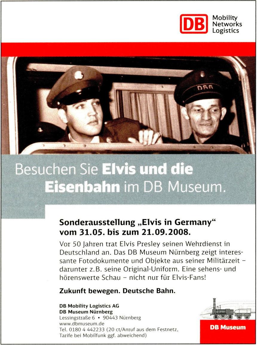 Anzeige in Eisenbahnzeitschrift 2008: DB