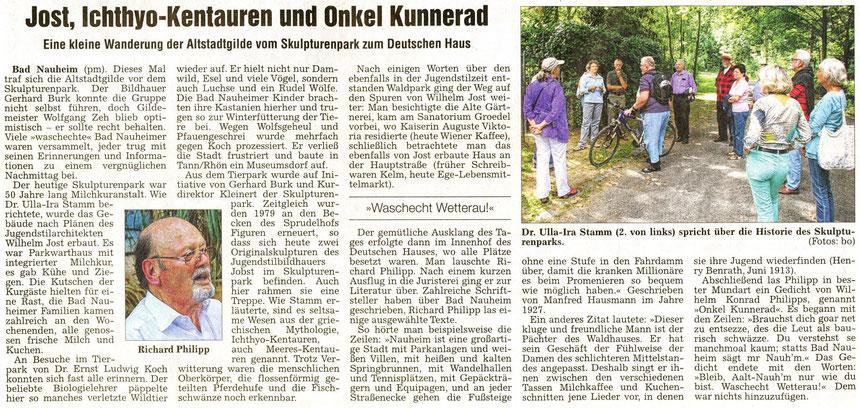 Referenten Dr. Ulla-Ira Stamm und Richard Philipp, WZ 17.08.2012, Fotos: Eberhard Bogdoll
