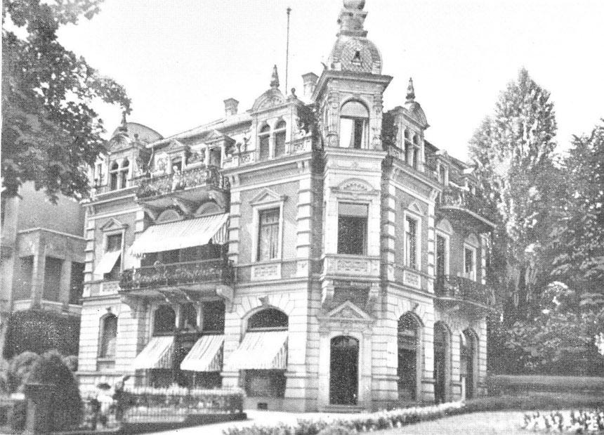Foto, etwa 1900, Sammlung Museum Bad Nauheim, Beatrix van Ooyen