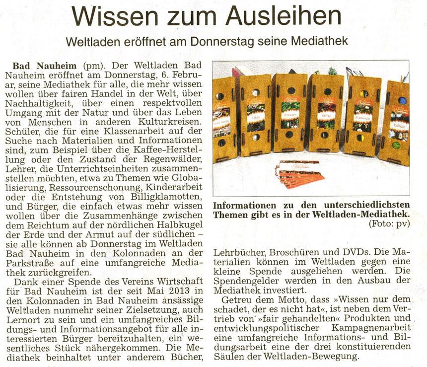 Wissen zum Ausleihen, WZ 04.02.2014