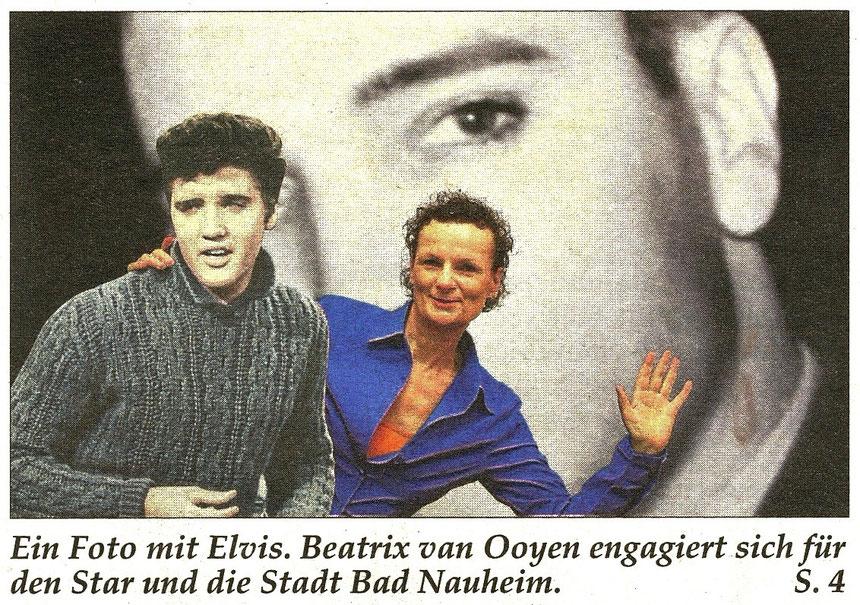 Elvis und ich, Themenübersicht Seniorenjournal 2/2016, Sonderbeilage der Wetterauer Zeitung, Foto: Nici Merz, Text: Frauke Ahlers