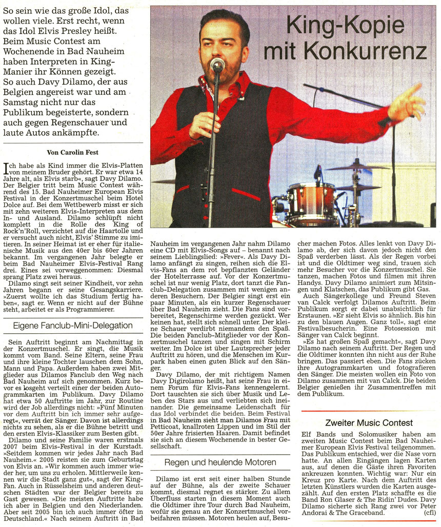 King-Kopie mit Konkurrenz, WZ 23.08.2016, Text und Foto: Carolin Fest