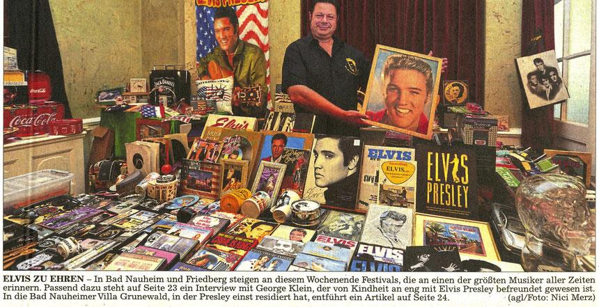 Elvis zu Ehren, WT 20.08.2016, Text: Christian Agel, Foto: Nici Merz