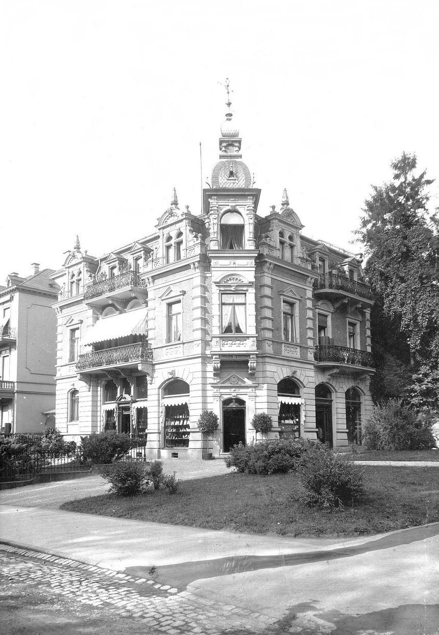 Foto, etwa 1890, Sammlung Museum Bad Nauheim, Beatrix van Ooyen