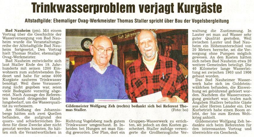Referent Thomas Staller, WZ 22.10.2013, Foto: Eberhard Bogdoll