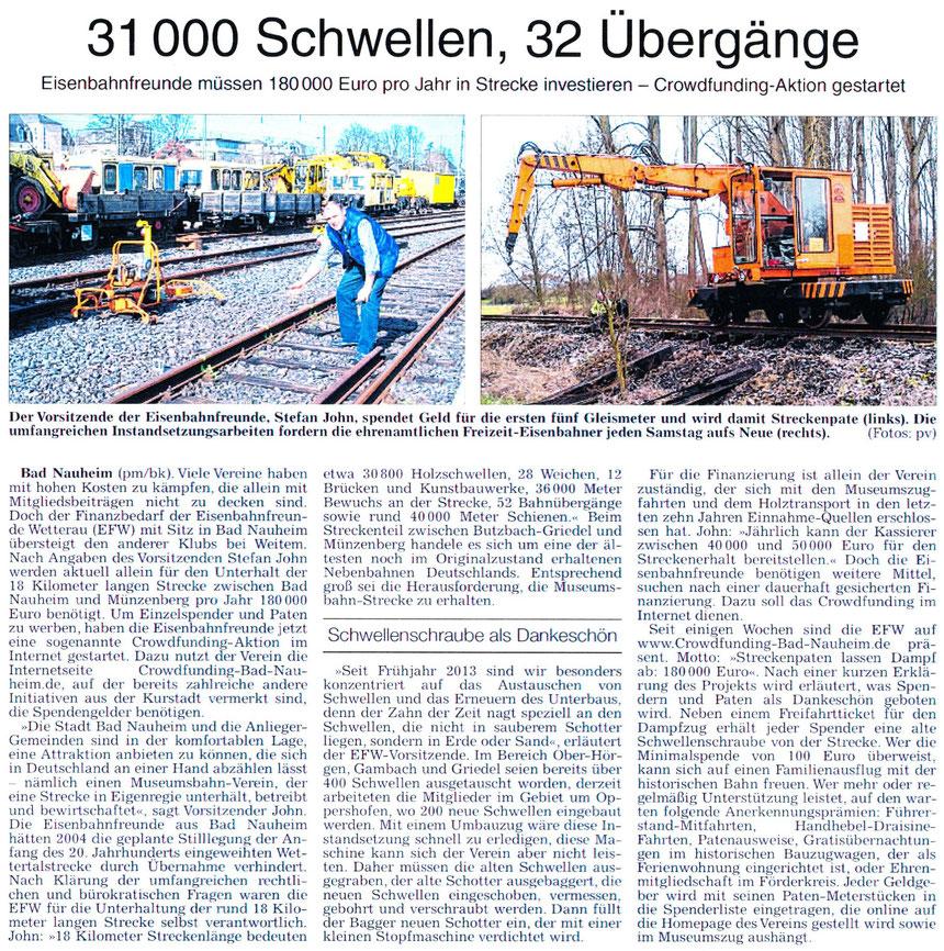 WZ 27.03.2014, PM + Bernd Klühs