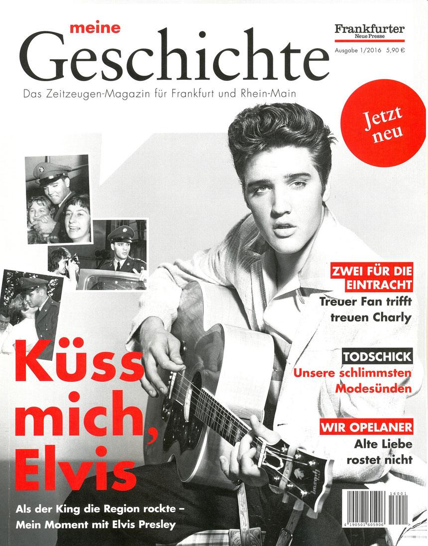 """Frankfurter Neue Presse 1/2016 """"meine Geschichte - Das Zeitzeugen-Magazin für Frankfurt und Rhein-Main"""", (seit KW50 im Handel)  ONLINE-MUSEUM"""