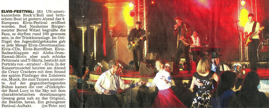 Elvis Festival, WZ 14.08.2010, Text: Jürgen Wagner, Foto: Nici Merz