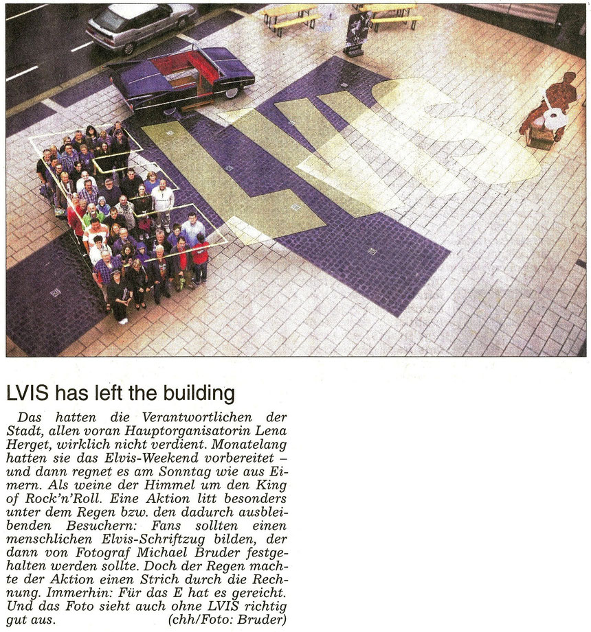 WZ 22.08.2015, Stadtmarketing Friedberg: LVIS has left the building, Text: chh, Foto: Bruder